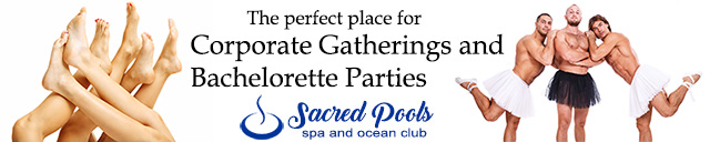 Sacred Pool Spa and Ocean Club - Group Events